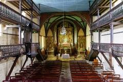 Eglise de l'Assomption - Français:   Église Notre-Dame-de-l'Assomption (Ascain, Pyrénées-Atlantiques, Nouvelle-Aquitaine, France).
