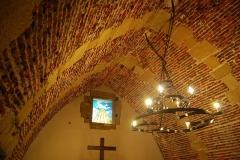 Citadelle - Intérieur de la chapelle de la citadelle de Bayonne.