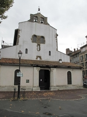 Eglise Saint-Esprit - English: Facade of the church of Holy-Spirit in Bayonne (Pyrénées Atlantiques, France).