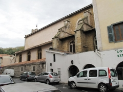 Eglise Saint-Esprit - English: Side view of the church of Holy-Spirit in Bayonne (Pyrénées Atlantiques, France).