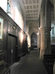 Eglise Saint-Esprit - English: Side aisle of the church of Holy-Spirit in Bayonne (Pyrénées Atlantiques, France).