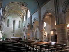 Eglise Saint-Esprit - English: Interior of the church of Holy-Spirit in Bayonne, Pyrénées Atlantiques, France