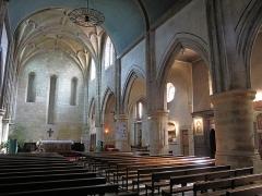 Eglise Saint-Esprit - English: Interior of the church of Holy-Spirit in Bayonne, Pyrénées Atlantiques, France