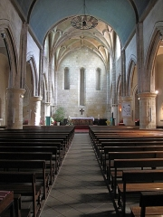 Eglise Saint-Esprit - English: Nave of the church of Holy-Spirit in Bayonne, Pyrénées Atlantiques, France
