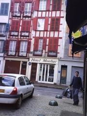 Immeuble - Español: Hotel Monbar de Bayona en 2007