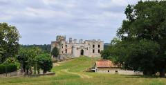 Château de Bidache - Deutsch: Bidache, Schlossruine von Gramont