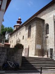 Eglise Saint-Vincent - English: Ciboure(Pyr-Atl, Fr) St.Vincent, extérieur part 1.