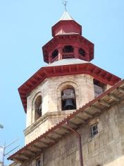 Eglise Saint-Vincent - English: Ciboure (Pyr-Atl, Fr) St.Vincent, tour octogonale.