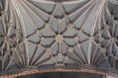 Eglise Saint-Vincent - Deutsch: Kirche Saint-Vincent in Ciboure im Département Pyrénées-Atlantiques (Region Aquitaine-Limousin-Poitou-Charentes/Frankreich), Gewölbe