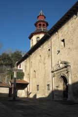 Eglise Saint-Vincent - Deutsch: Kirche Saint-Vincent in Ciboure im Département Pyrénées-Atlantiques (Region Aquitaine-Limousin-Poitou-Charentes/Frankreich)
