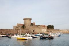 Fort du Socoa -  Ciboure (Pyrénées-Atlantiques): le fort de Socoa. Photo prise le 03/01/07 par Harrieta171