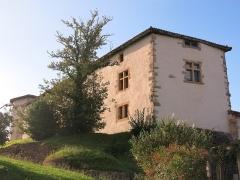 Ancien château des Barons d'Espelette ou Ezpeleta - English: Townhall-castle of Espelette, (Pyrénées-Atlantiques, France).