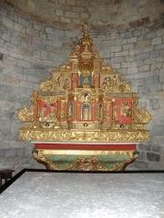 Eglise Saint-Jean-Baptiste - English: Haux (Pyr-Atl, Fr) altar.