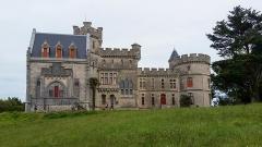 Château Abbadia - English: Abbadia castle (West side)