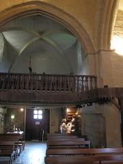 Eglise Saint-Blaise - English: Gallery of the church of l'Hôpital Saint-Blaise (Pyrénées-Atlantiques)