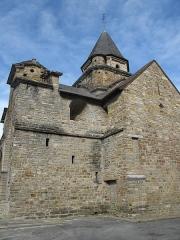 Eglise Saint-Blaise - English: The church of l'Hôpital Saint-Blaise (Pyrénées-Atlantiques, France) seen from the south-west side.