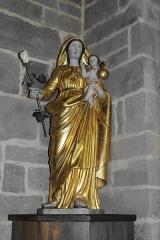 Eglise Saint-Vincent - Français:   Vierge à l\'Enfant de l\'église Saint-Vincent à Igon (64)