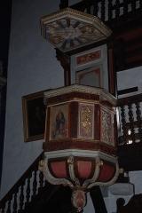 Eglise Saint-Fructueux -  Itxassou, chaire à prêcher de l'église Saint-Fructueux