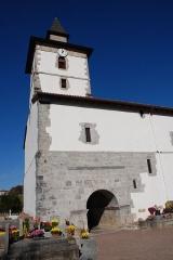 Eglise Saint-Fructueux -  Itxassou, l'église Saint-Fructueux