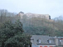 Vieux Château de Mauléon - English: The castle above the houses of Mauléon-Licharre, (Pyrénées-Atlantiques, France).