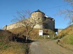 Vieux Château de Mauléon - English: The castle of Mauléon-Licharre and its access road, (Pyrénées-Atlantiques, France).