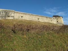 Vieux Château de Mauléon - English: The east wall of the castle of Mauléon-Licharre, (Pyrénées-Atlantiques, France).