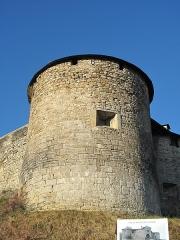 Vieux Château de Mauléon - English: The North-East tower of the castle of Mauléon-Licharre, (Pyrénées-Atlantiques, France).