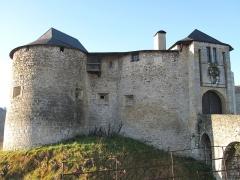 Vieux Château de Mauléon - English: The North-East wall of the castle of Mauléon-Licharre, (Pyrénées-Atlantiques, France).