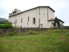 Eglise Saint-Cyprien -  Mendionde Lekorne church and apse