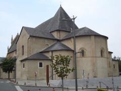 Eglise Sainte-Foy - English: Morlaàs (Pyr-Atl, Fr) Sainte-Foy church, apse