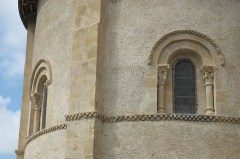 Eglise Sainte-Foy - Deutsch: Katholische Kirche Sainte-Foy in Morlaàs im Département Pyrénées-Atlantiques (Nouvelle-Aquitaine/Frankreich)