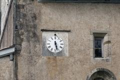 Eglise Saint-Jean-Baptiste -  Clock and sundial ....