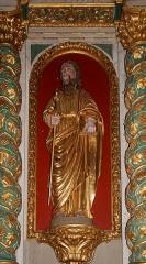 Eglise Saint-Jean-Baptiste -  Saint John, statue of the altarpiece of the high altar.