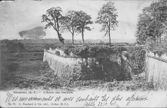Enceinte bastionnée - English: Navarrenx-The ramparts (Pyrénées-Atlantiques, France). Time stamp is at december 1903.