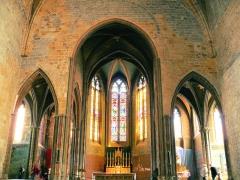 Eglise Saint-Pierre - Français:   Orthez - Église Saint-Pierre - Choeur, abside et absidioles