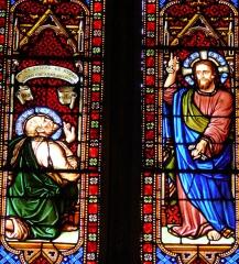 Eglise Saint-Pierre - Français:   Orthez - Église Saint-Pierre - Vitraux de l\'abside
