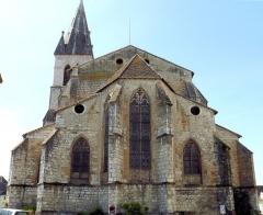 Eglise Saint-Pierre - Français:   Orthez - Église Saint-Pierre - Chevet