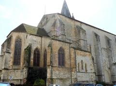 Eglise Saint-Pierre - Français:   Orthez - Église Saint-Pierre - Chevet et nef