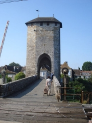 Vieux Pont - English: Orthez, Pont-Vieux