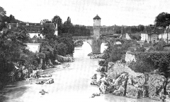Vieux Pont - English: Image from a scanned copy of a book