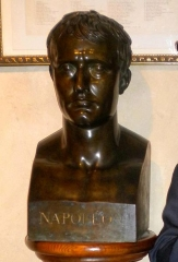 Maison natale de Charles Bernadotte - English: Napoleon I bust at Bernadotte Museum, as released by image creator Ristesson;  Place: Rue Tran, Pau, France
