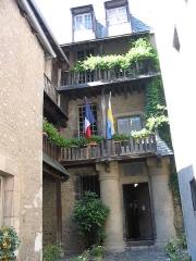 Maison natale de Charles Bernadotte - English: House of Bernadotte (General of Napoleon, King of Sweden) in Pau (South-Western France)