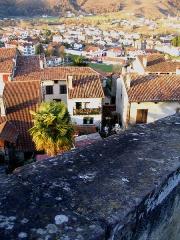 Citadelle -  Vue depuis la citadelle - Saint-Jean-Pied-de-Port - Pyrénées Atlantiques - France Auteur/author: P.Charpiat - 2006