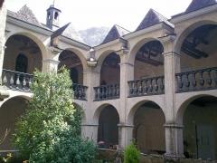 Eglise de Sarrance -  Claustre de la glèisa de Sarrança