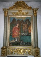 Eglise de Sarrance -  Representacion barròca deu Bueu.