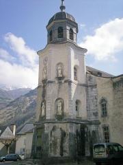 Eglise de Sarrance -  Campaner octogonau de la glèisa e Sarrança