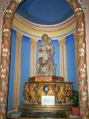 Eglise de Sarrance -  Verge.