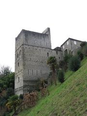 Restes du château de Montréal - English: Monréal tower in Sauveterre-de-Béarn (Pyrénées-Atlantiques, France).