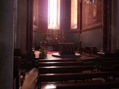 Eglise Saint-André -  Author: Sebb  Date: 07/2006  Description: Intérieur de l'église Saint-André de Sauveterre-de-Béarn