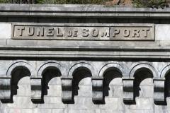 Tunnel du Somport - Español: Acceso del tunel de Somport en la localidad de Canfranc